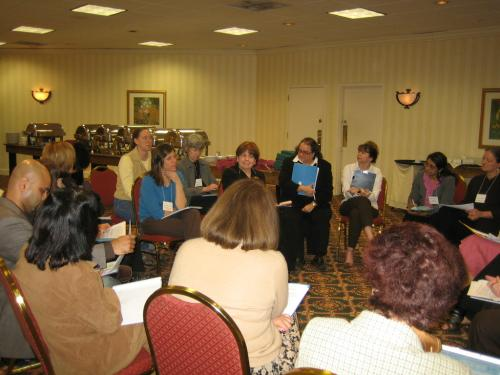 more of the group on co-teaching