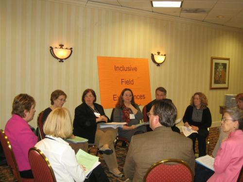 Breakout group on inclusive field experiences